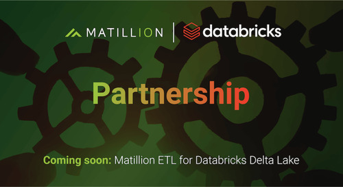 Matillion and Databricks Partner to Address Rising Demand for Lakehouse Architecture