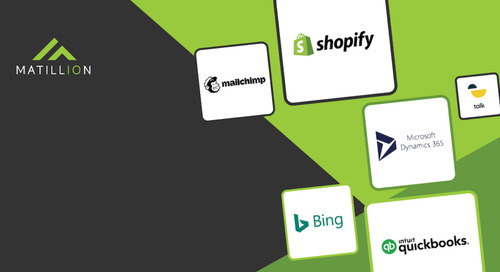 New Connectors in Matillion Data Loader: Microsoft Dynamics 365 Sales, Mailchimp, Shopify, and More