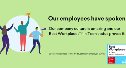 Matillion is officially named a 2021 UK's Best Workplace™ in Tech!