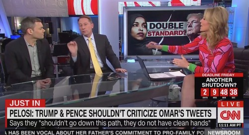 CNN's Brooke Baldwin Dresses Down Guest in Fiery Debate Over Ilhan Omar, Trump: 'Don't Blanket Statement!' - Mediaite