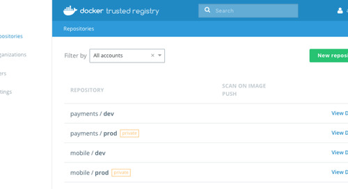 Using Your Own Private Registry with Docker Enterprise Edition