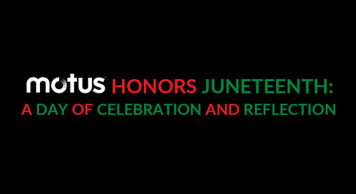 Motus Honors Juneteenth: A Day of Celebration and Reflection