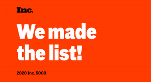 Motus Named to Inc. 5000 List for the Second Consecutive Year