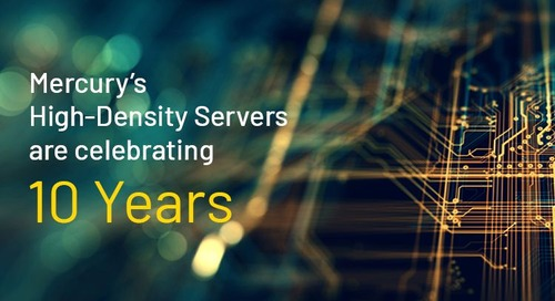 I'll take my data center to go, please: Celebrating 10 years of deployable data center performance
