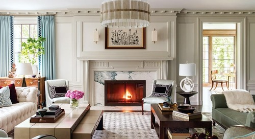 A Historic Home in Brookline Gets a Fresh Update