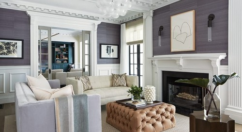 A Classic Suburban Boston Home Updated for Modern Living