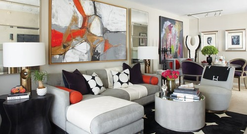 A Designer's Chic Apartment in Stamford