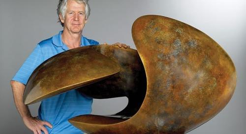 Sculptor Richard Erdman: Cast in Stone