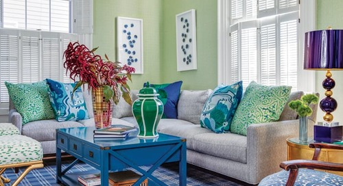 A Colorful Greek Revival in Providence