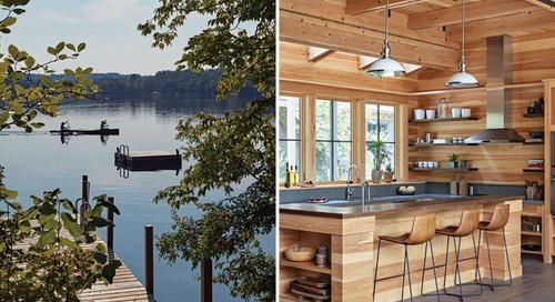 A Sophisticated Berkshires Cabin