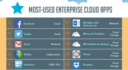Netskope Cloud Report - EMEA Edition Summer 2015 [Infographic]