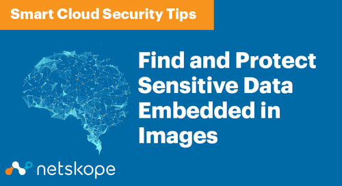 Smart Cloud Security: Find and Protect Sensitive Data Embedded in Images