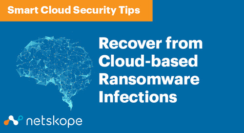 Smart Cloud Security: Recover from Cloud-based Ransomware Infections
