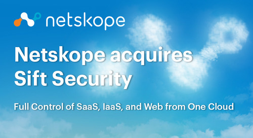 Welcoming Sift Security to Netskope