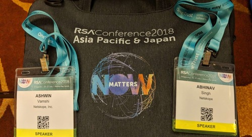 Netskope @ RSA Conference 2018 Asia Pacific & Japan