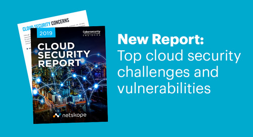 New report tackles the issues and opportunities of cloud security