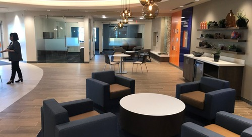 Financial Credit Union in Phoenix Features Eye-Catching Solitaire Pendant Clusters