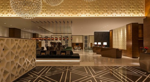 Modern Hotel Pendant Lighting featured in Commercial During 91st Academy Awards