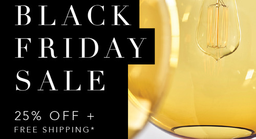 Enjoy 25% Off and Free Shipping on Hand-Blown Pendant Lights for Black Friday