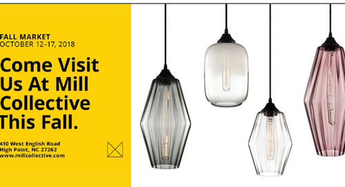 Niche to Showcase New Pendants at High Point Market this Month