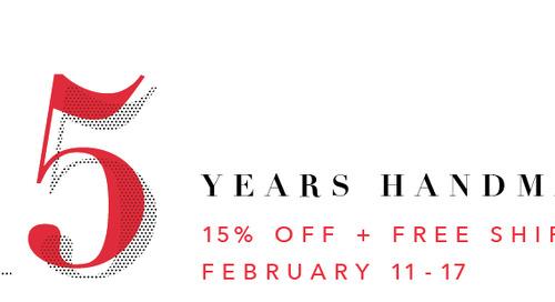 Celebrate Niche's 15th Anniversary with a Handmade Pendant Lighting Sale