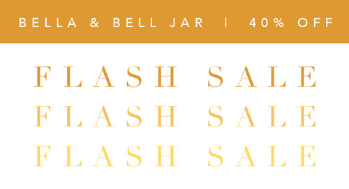 Flash Sale: Bella & Bell Jar Pendants Now 40% Off