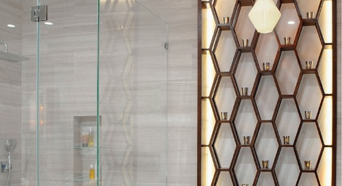 Bathroom Pendant Lights Illuminate Luxury New York City Residence
