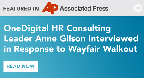 Anne Gilson Featured in The Associated Press Discussing Wayfair Workers Protest