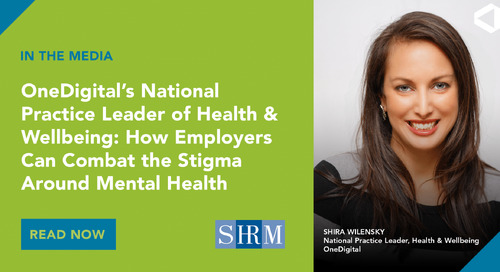 Shira Wilensky Talks to SHRM About Overcoming Obstacles to Address Mental Health in the Workplace