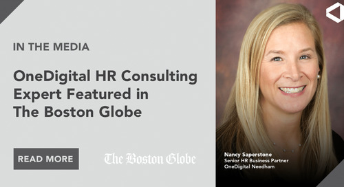 Nancy Saperstone Talks to The Boston Globe About How to Increase Employee Engagement This Summer