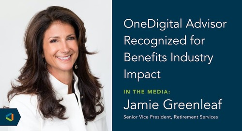Jamie Greenleaf Named One of 2020's Top Women in Benefit Advising
