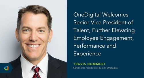 OneDigital Announces New Senior Vice President of Talent