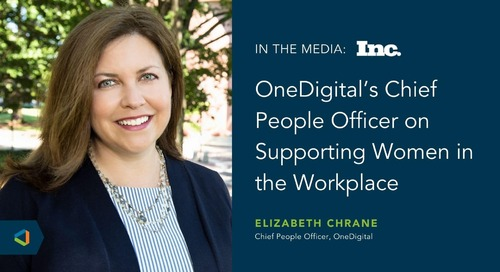 Elizabeth Chrane Featured in Inc. for Women's Equality Day