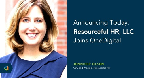 OneDigital Acquires Resourceful HR