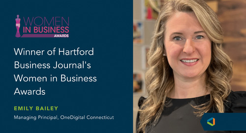 OneDigital Connecticut Managing Principal Selected as One of Hartford Business Journal's 2021 Women in Business Award
