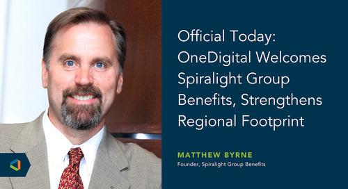 OneDigital Acquires Spiralight Group Benefits