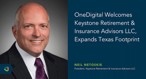 OneDigital Acquires Keystone Retirement & Insurance Advisors LLC