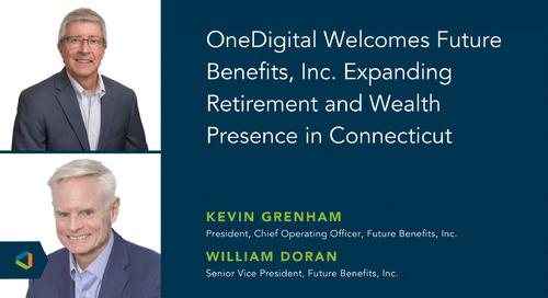 Future Benefits Inc. Joins OneDigital