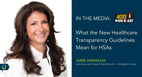 What the New Healthcare Transparency Guidelines Mean for HSAs