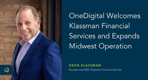 OneDigital Acquires Klassman Financial Services