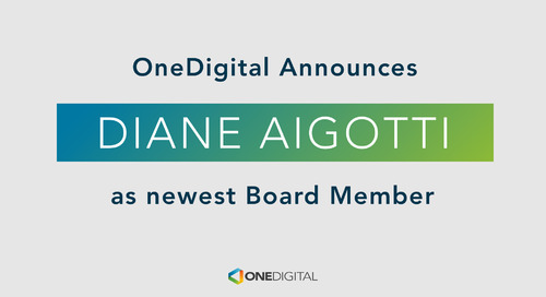 OneDigital Appoints Diane Aigotti to Board of Managers