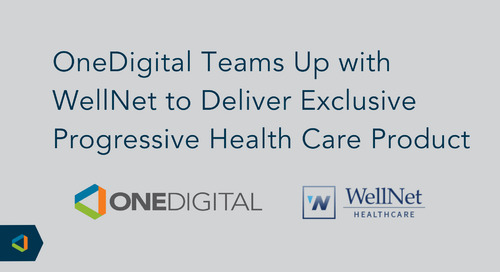 WellNet Healthcare Selected to Develop and Administer Onward Health Product for OneDigital