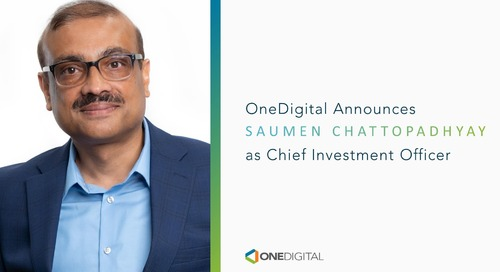 OneDigital Retirement + Wealth Hires Saumen Chattopadhyay as Chief Investment Officer