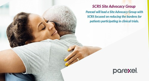 Parexel & SCRS - Aligning Sites with Patient Needs to Increase Engagement
