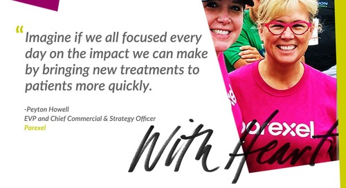 Imagine if… we all focused every day on the impact we can make by bringing new treatments to patients more quickly.