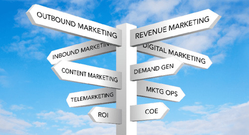 First Steps in the Revenue Marketing Journey