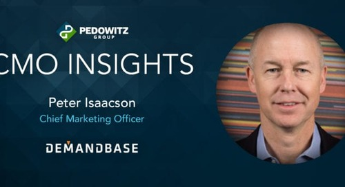 CMO Insights: Peter Isaacson, CMO, Demandbase