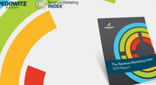 The Revenue Marketing Index 2019 Report: Why It's So Important