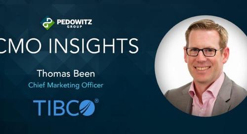 CMO Insights: Thomas Been, CMO, TIBCO