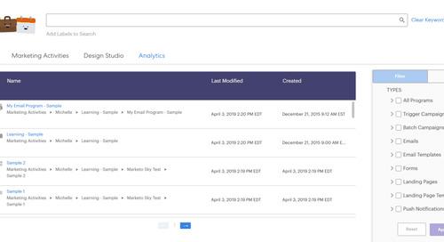 How To Use Marketo Sky's New Search Tool: The Marketo Sky Blog Series